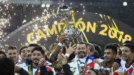 River, último campeón de la Copa Libertadores - Crédito:@Libertadores