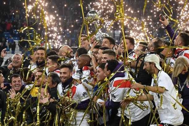 "River campeón de la Copa Libertadores<span style=""background-color: initial; font-weight: bold;"">     </span>"