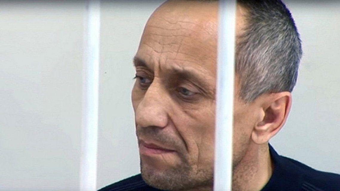 Mijaíl Popkov fue condenado a cadena perpetua