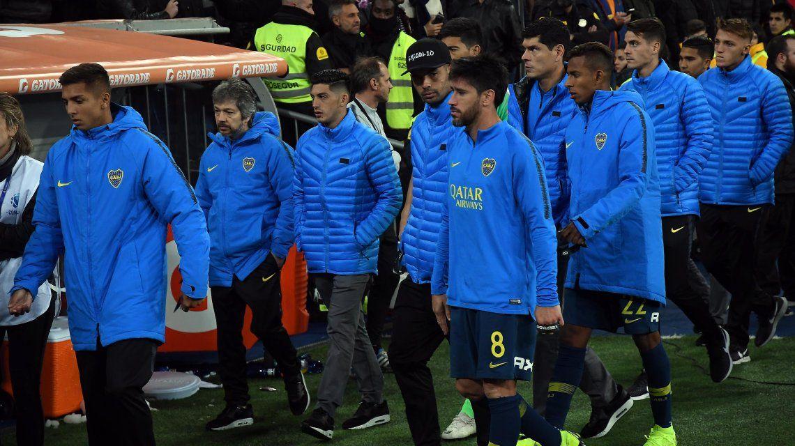 Boca volvió al país con una orden clara para sus jugadores: No podemos hablar