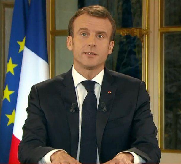 Emmanuel Macron, presidente de Francia<br>