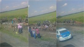 Saquearon un camión en la ruta a Famaillá, Tucumán