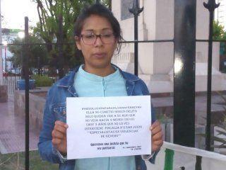 mi unica intencion fue abrazarlo: silvana podria ir 5 anos a la carcel porque la acusan de secuestrar a su propio hijo