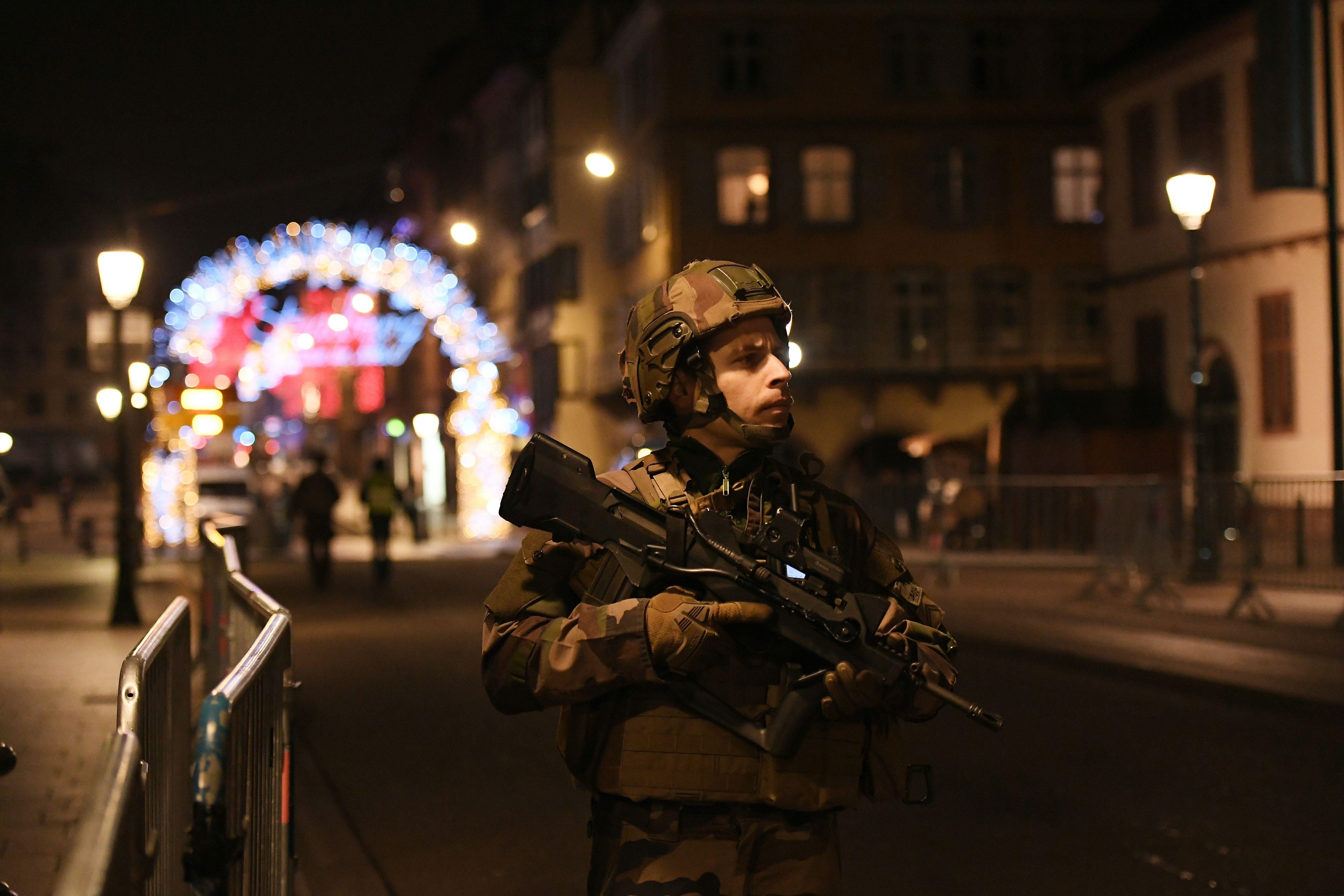 Tiroteo en Estrasburgo, Francia: al menos cuatro muertos y varios heridos