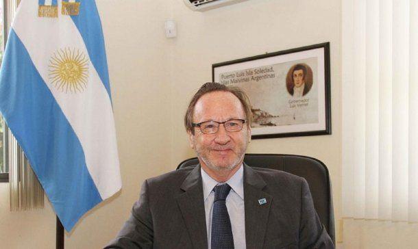 El embajador argentino en Nicaragua, Marcelo Valle Fonrouge.