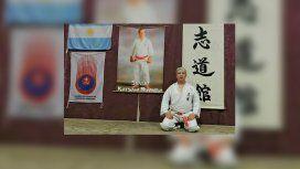 Jorge Garzón es profesor de Karate y secretario de una defensoría de abuso sexual y violencia de género