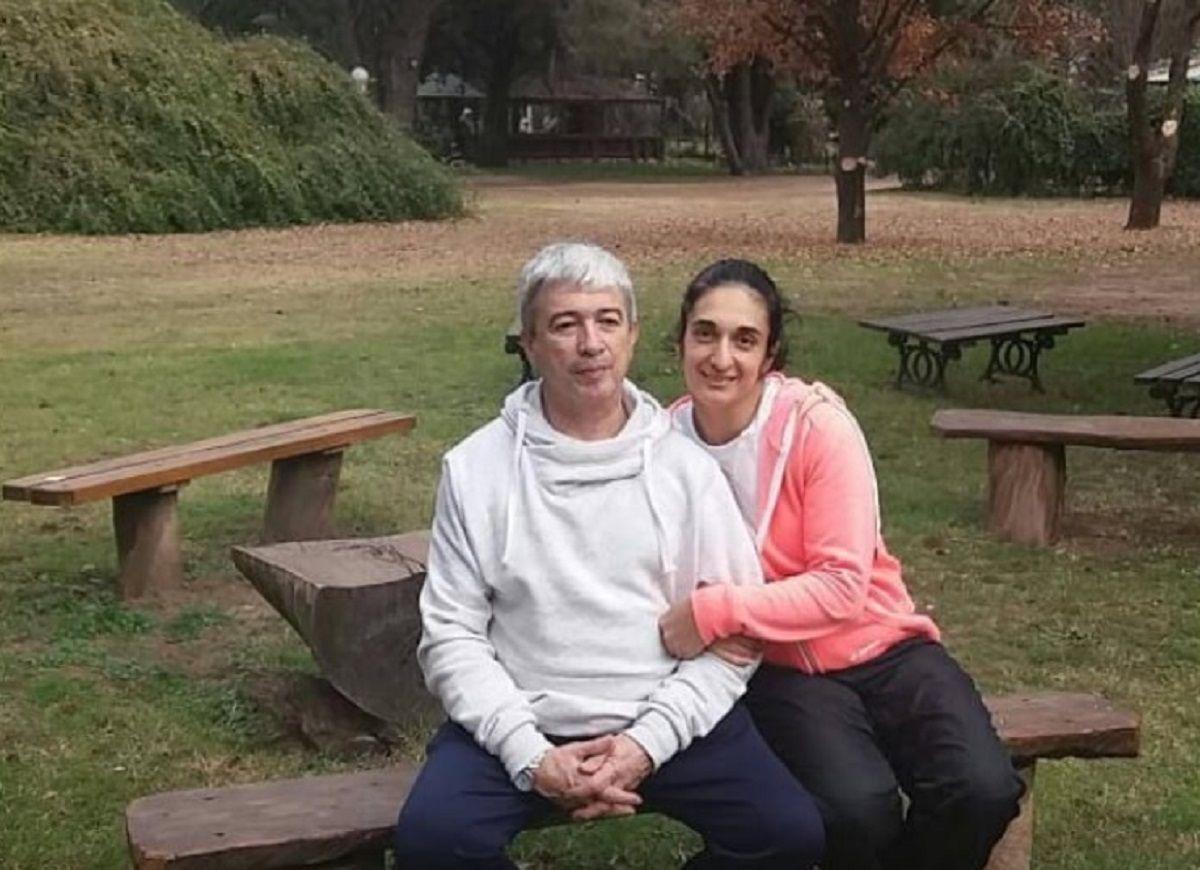 Jorge Garzón y su mujer