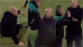 El DT le rogó al árbitro por tiempo suplementario