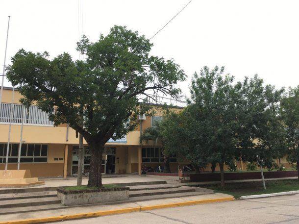 La única escuela secundaria técnica de San Jorge