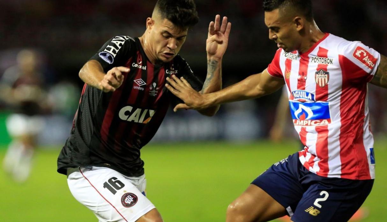 Atlético Paranaense recibe a Junior de Barranquilla