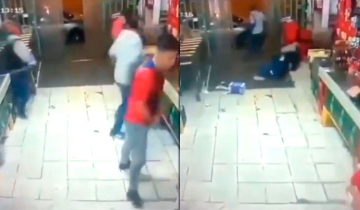 El comerciante disparó contra los delincuentes