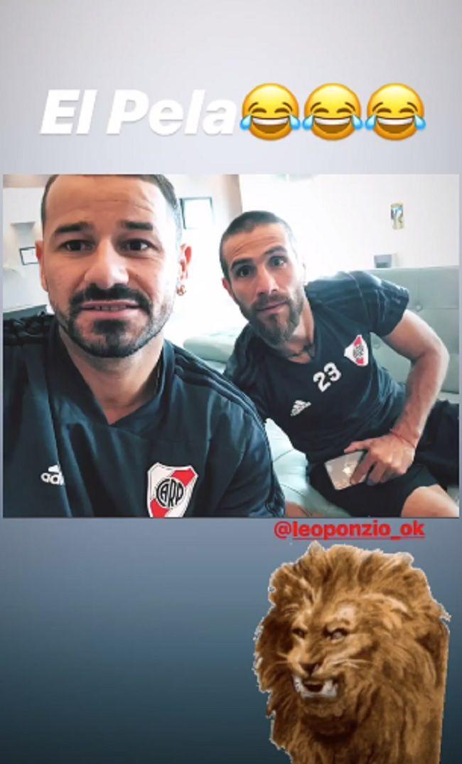 Luego de la final ante Boca y antes del Mundial de Clubes, el rotundo cambio de look de Ponzio