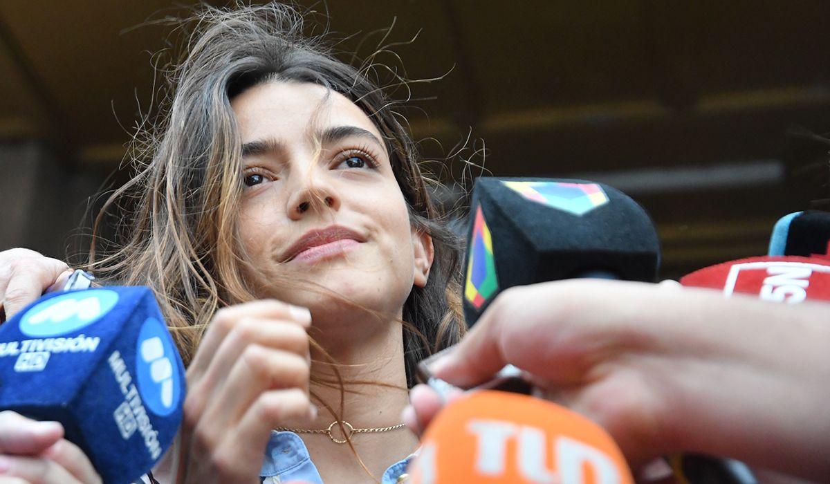 Calu Rivero, entre lágrimas: Siento que es un día en que la mujer ganó