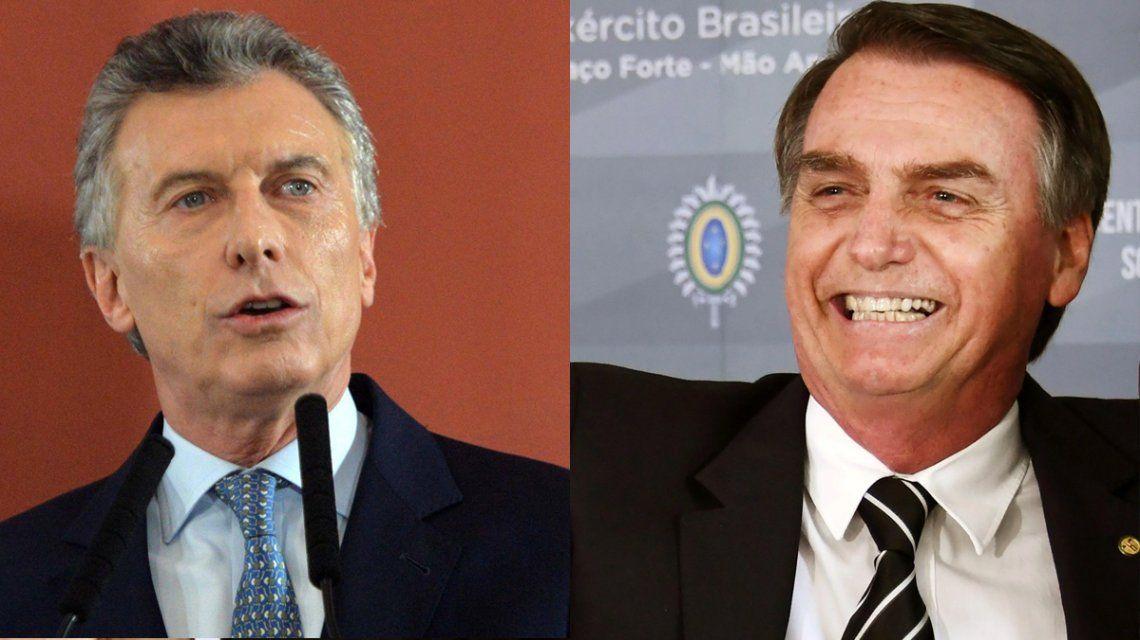 Comercio bilateral, Venezuela y Mercosur: la agenda del encuentro entre Macri y Bolsonaro