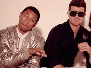 Pharrell Williams y Robin Thicke se ganaron todas las críticas por Blurred Lines