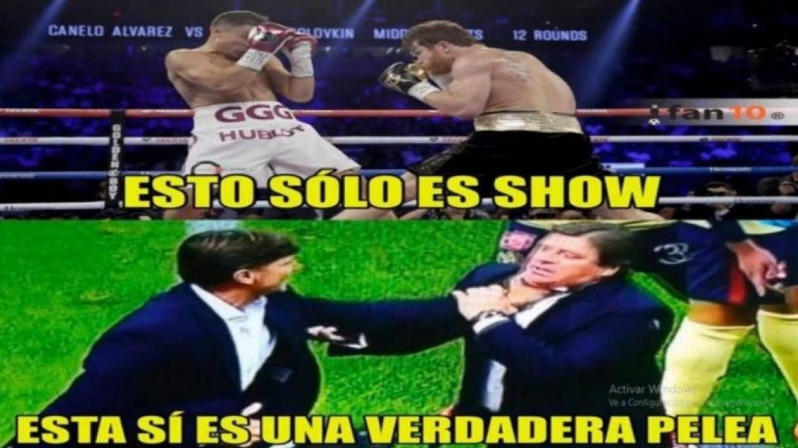 Los memes por la victoria de Canelo Álvarez ante Rocky Fielding