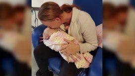 Inglaterra: un beso mató a una beba y sus padres advierten sobre los peligros del herpes