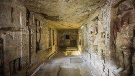 Así es la tumba de 4.400 años de antigüedad descubierta en Egipto