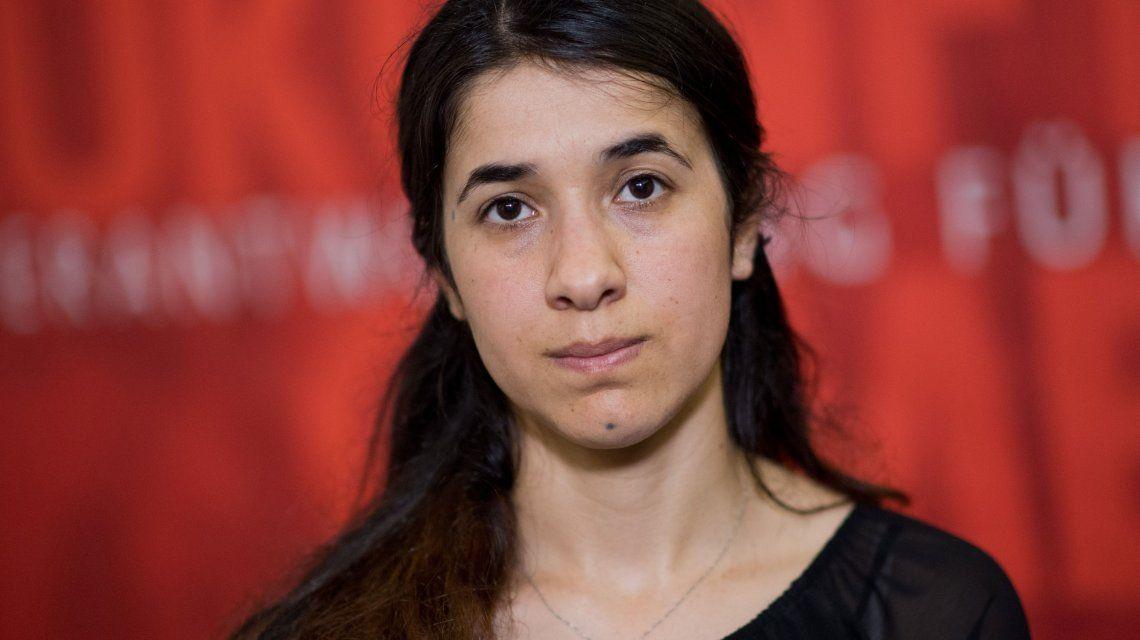 Nadia Murad llamó a las mujeres a denunciar las violaciones
