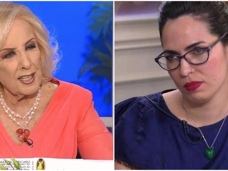 Mirtha Legrand y Sabrina Cartabia