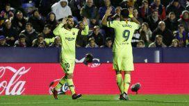 Messi y Suárez en Barcelona - Crédito:@FCBarcelona_es