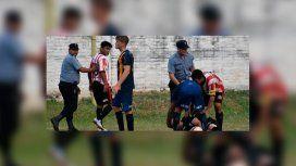 Liga de Posadas: lo expulsaron y noqueó al árbitro de dos trompadas