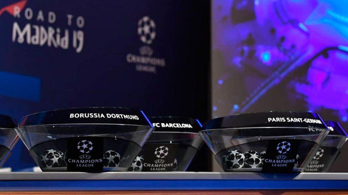 Se sortearon los octavos de la Champions League: así quedaron los cruces