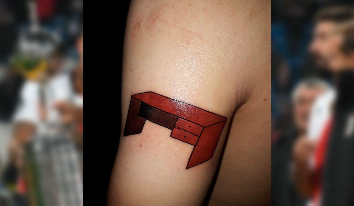 Prometió y cumplió: un hincha de River se hizo el tatuaje más increíble tras el título en la Copa