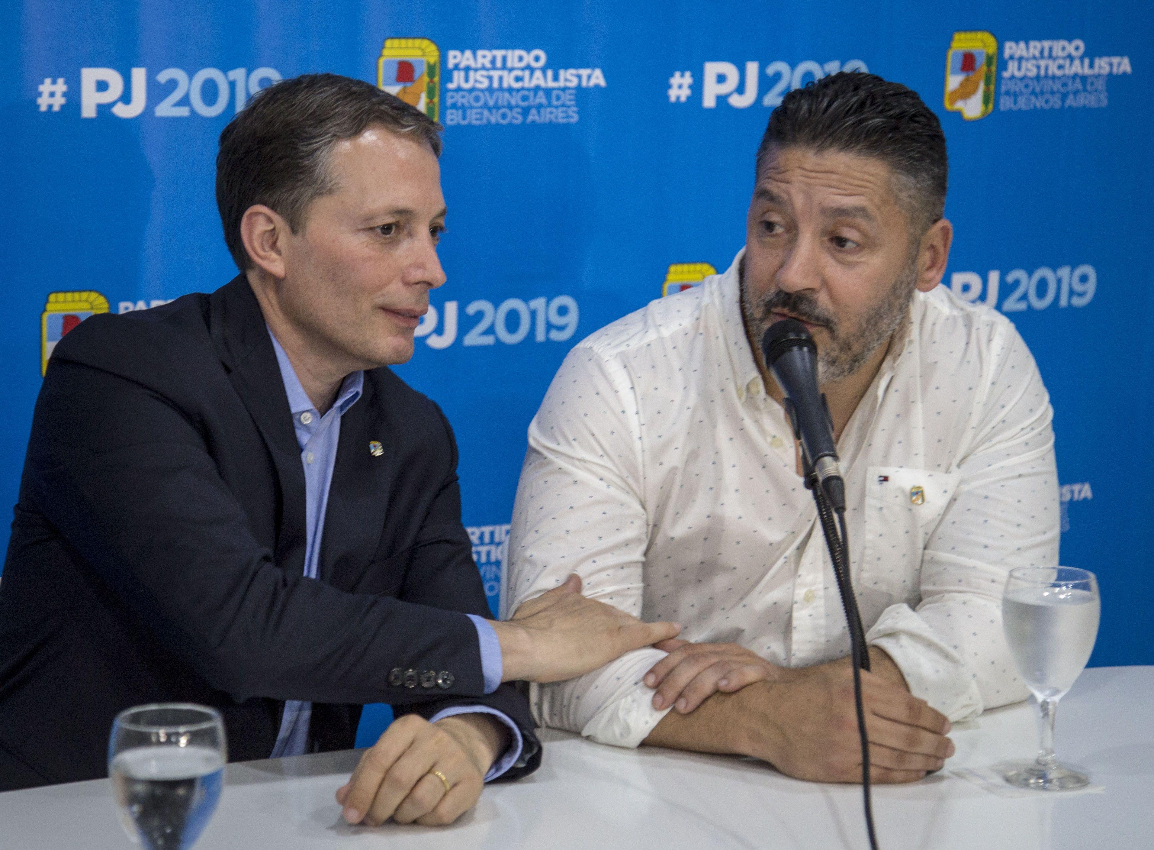 Fernando Gray y Gustavo Menéndez