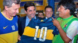 La chicana de Evo Morales a Macri por la derrota de Boca en el Superclásico