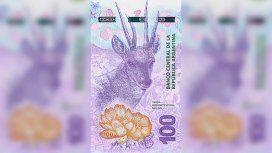 Más animales en la billetera: entra en circulación el billete de $100 con la taruca
