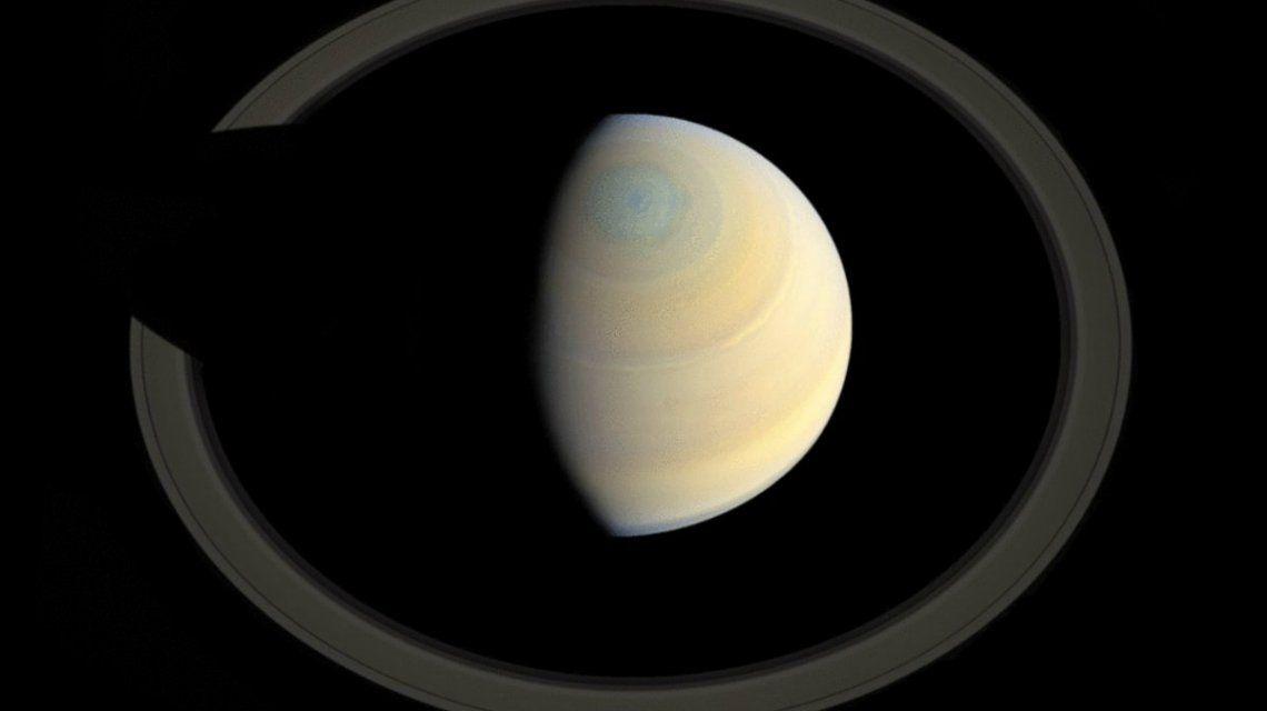 Así quedaría Saturno sin la mayor parte de sus anillos