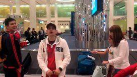 Llegó a Dubai para ver a River ante Real Madrid y se enteró que había perdido: el insólito video