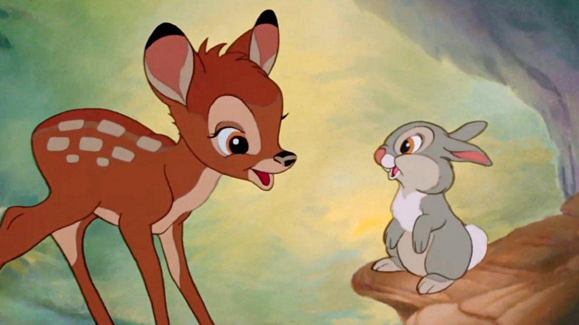 Estados Unidos: condenaron a un cazador de ciervos a ver Bambi