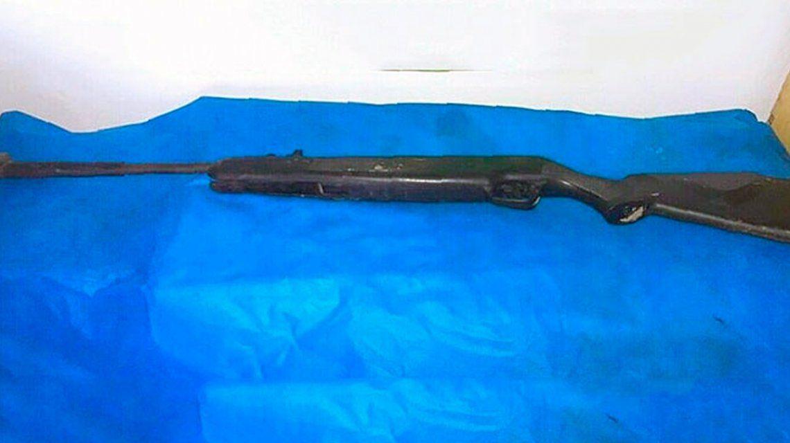 Este es el rifle que habría usado el adolescente