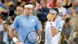 La peor noticia: Del Potro le cerró definitivamente las puertas a la Copa Davis