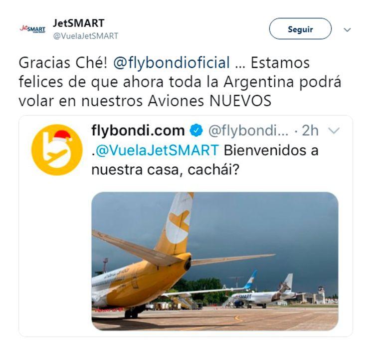 Aviones nuevos y el Mundial de Rusia: el insólito cruce entre Flybondi y JetSmart