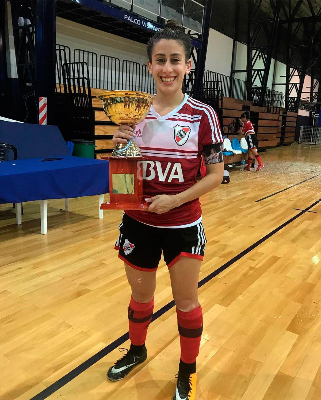La futbolista de River Ludmila Martínez denunció que fue abusada por un ex entrenador
