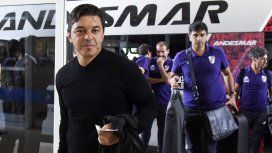 Así se iba Marcelo Gallardo con Matías Biscay a Madrid para disputar la final de la Copa Libertadores