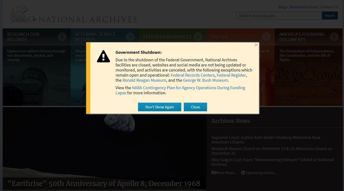Shutdown: el gobierno de Estados Unidos está apagado hasta después de Navidad