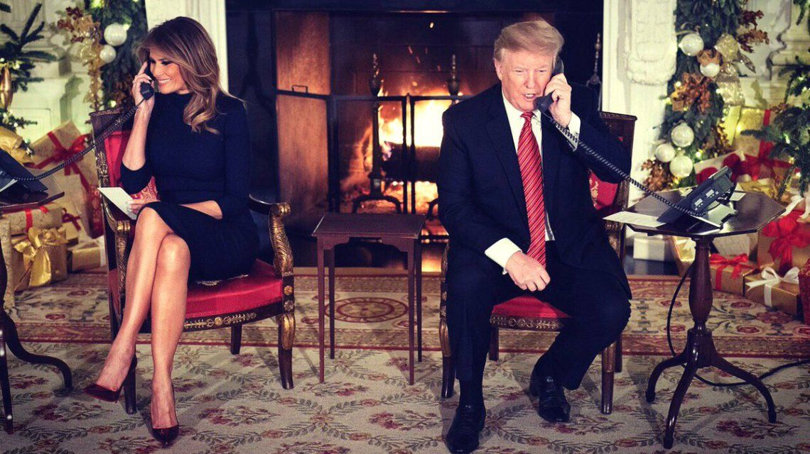 Trump le dijo a un nene de 7 años que creer en Papá Noel a su edad es marginal