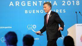 Mauricio Macri en el G20