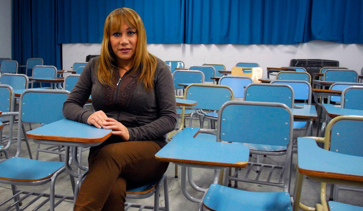 Claudia Vazquez Haro es activista y presidenta de Otrans Argentina