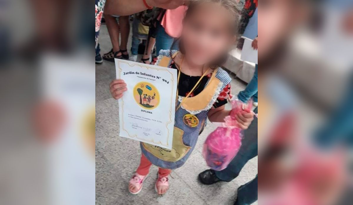 Murió Maite, la nena de 5 años baleada en Merlo