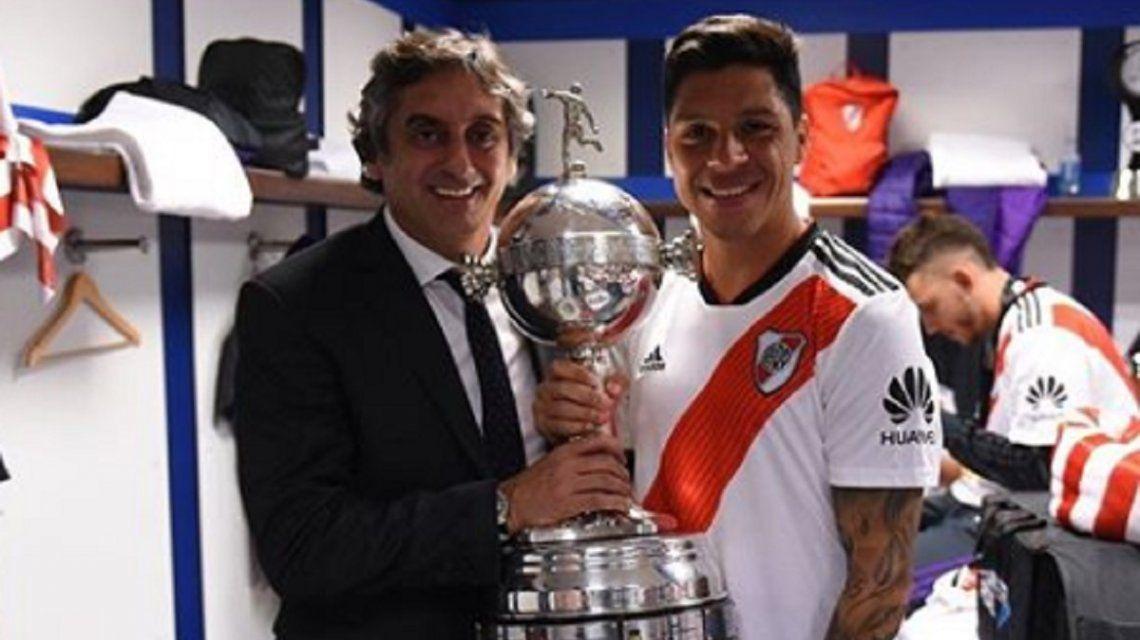 El imponente nuevo tatuaje de Enzo Pérez tras el título de River ante Boca en la Copa Libertadores