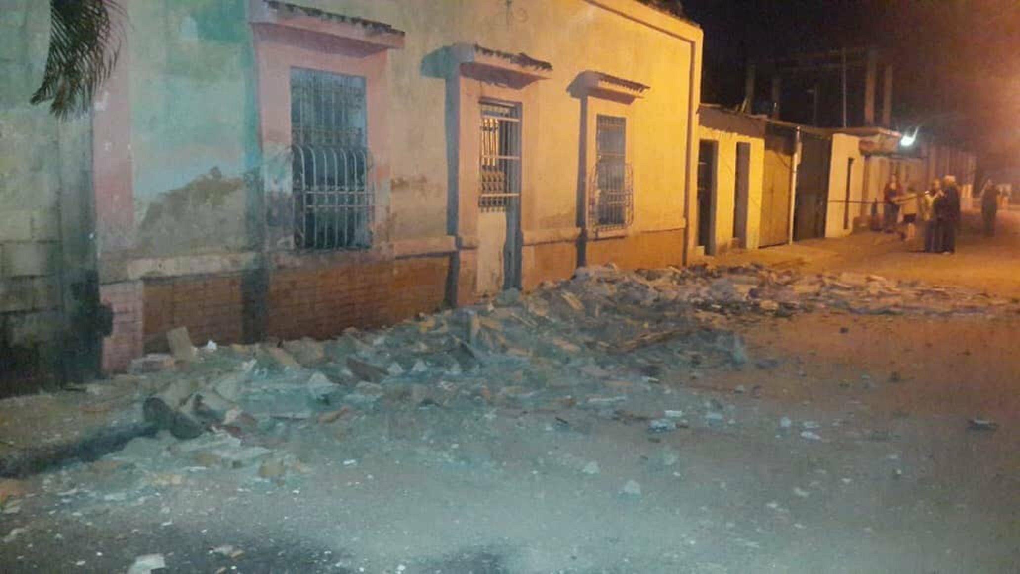 Venezuela: un sismo sacudió Caracas y parte de la región central del país