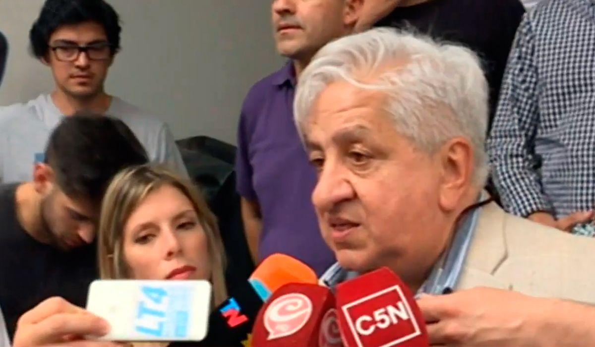 Después de 13 horas, Piumato se desencadenó: No puede haber detenciones arbitrarias en la Argentina