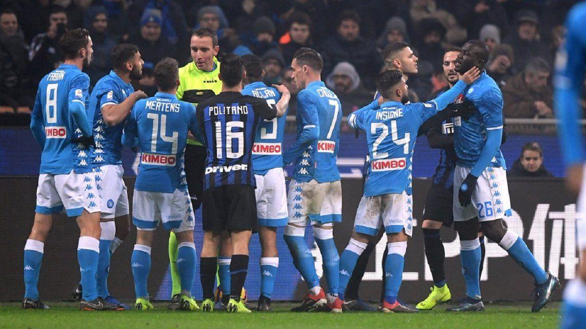 Sancionaron al Inter de Milán con dos partidos a puertas cerradas por racismo