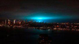 De ciencia ficción: ¿por qué el cielo de New York se tiñó de azul en plena noche?