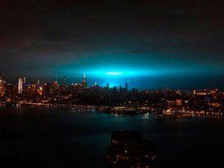 de ciencia ficcion: ¿por que el cielo de new york se tino de azul en plena noche?